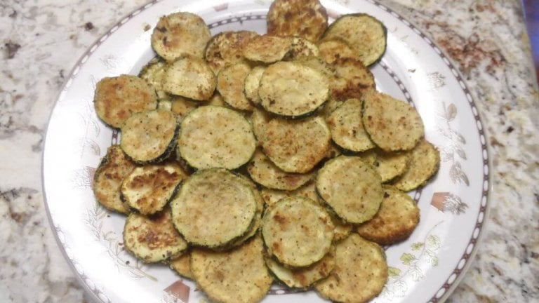 Zucchini Parmesan Crisps Recipe (Food Network)