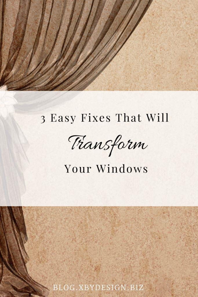 Easy Fixes to Transform Your Windows