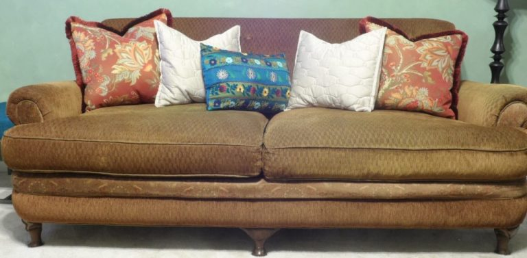 What to do About Sagging Seat Cushions – Buy New? Maybe, Maybe NOT.