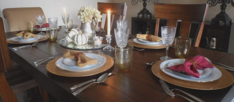 Update your Dining Decor in 3 Quick Steps