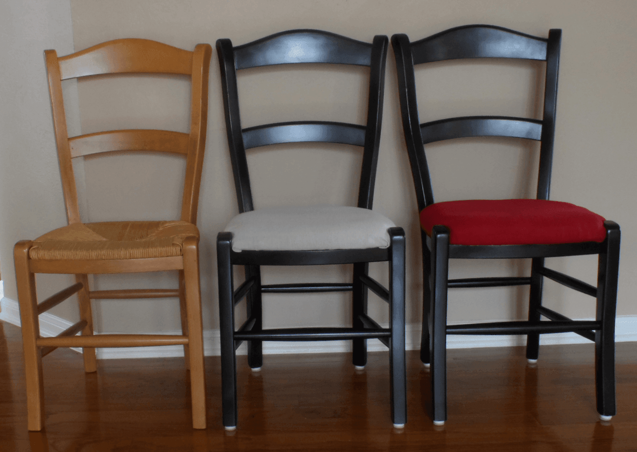 Cane Chair furniture makeover