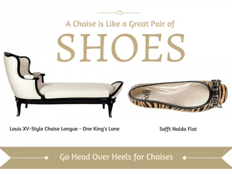 One Kings Lane ~ Head Over Heels for Chaises