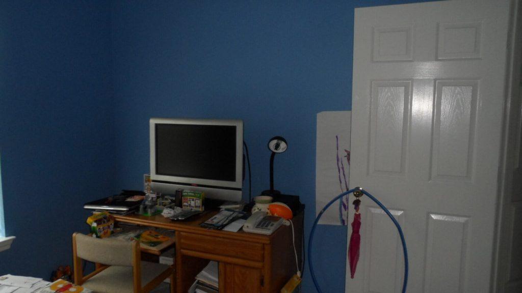 TV Corner BEFORE