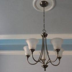 Light fixture before