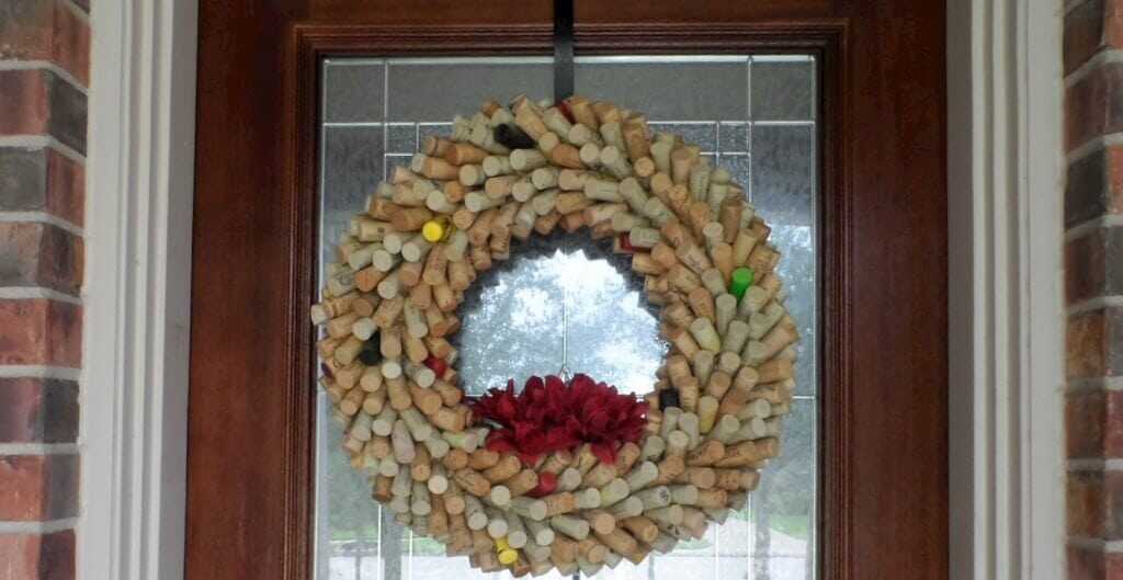 Restored Wine Cork Wreath