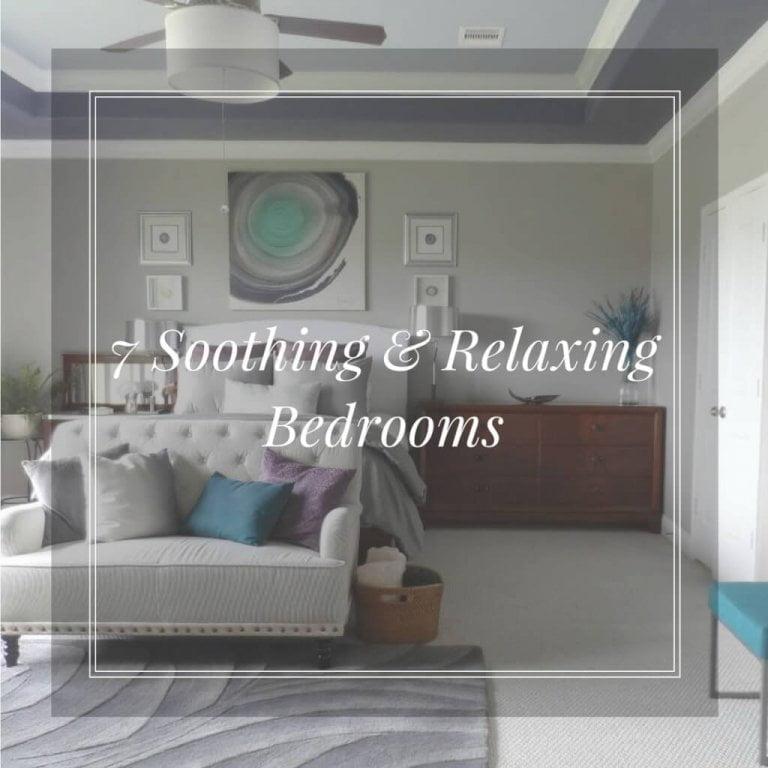 7 Soothing & Relaxing Bedroom Designs
