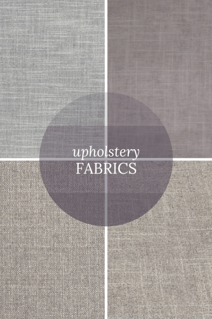 Deciding on textiles - Upholstery