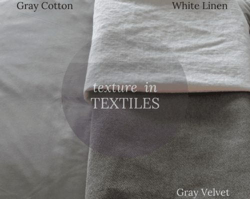 Textiles for Master Dedroom