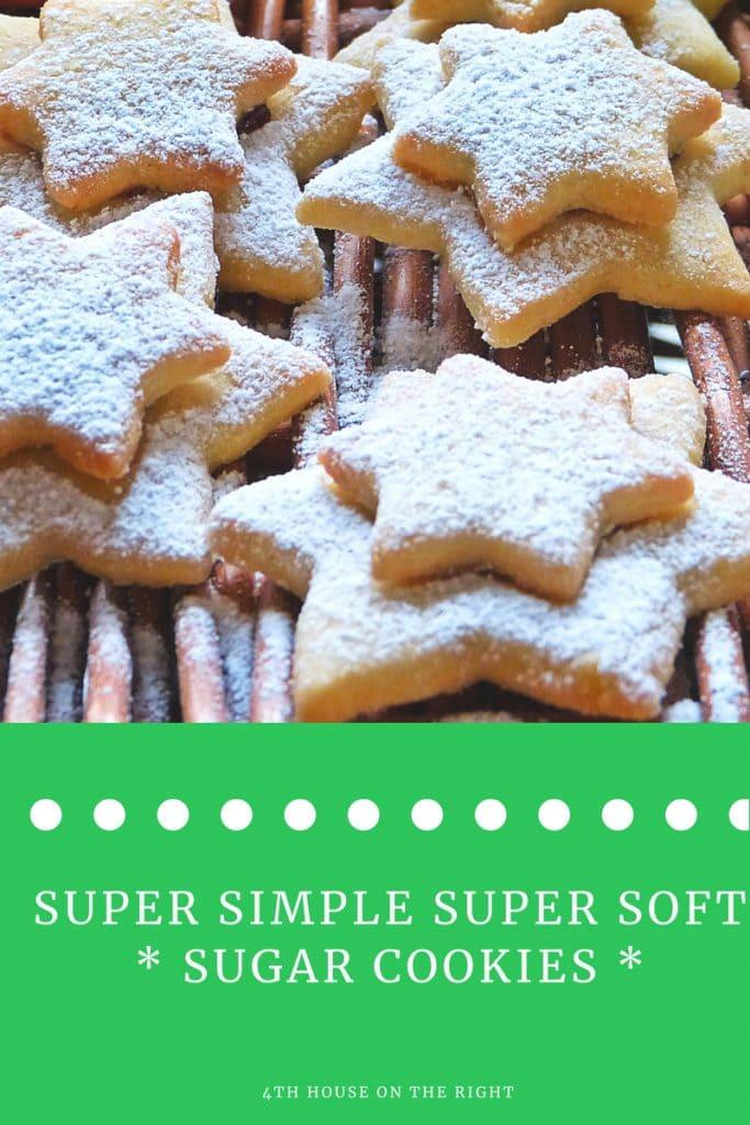 Super Simple Soft Sugar Cookies