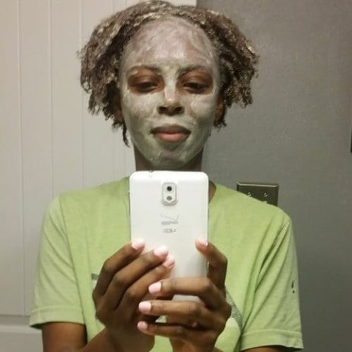 Max Hydration Method Step 3 - Clay Mask