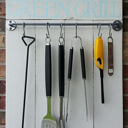 Diy Customized Grill Tool Holder 4th House On The Right