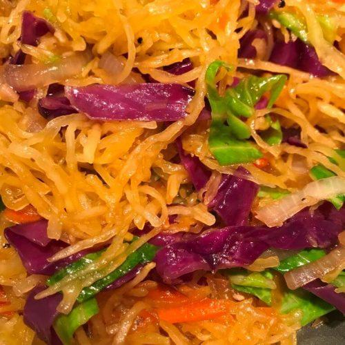 Gluten Free Vegan Lo Mein