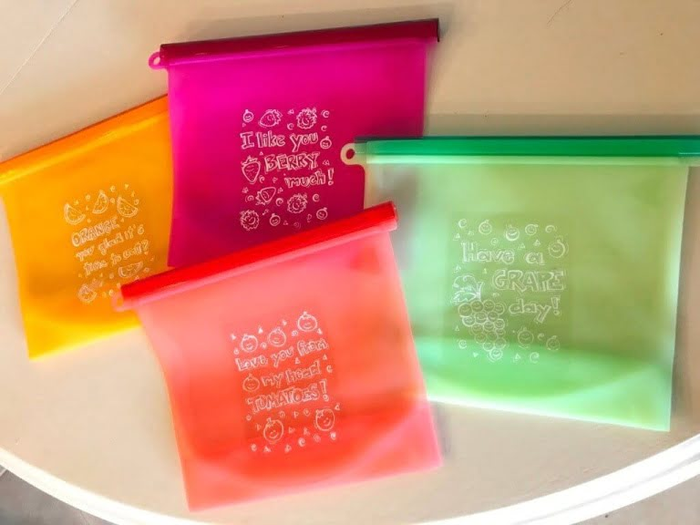 Product Review: Linnai Reusable Silicone Food Bags