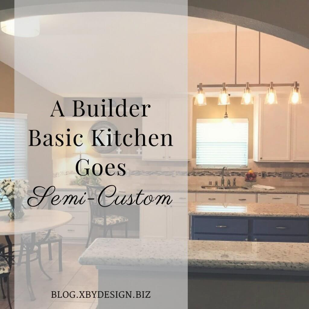 A builder basic kitchen goes semi custom 4th house on the right dailygadgetfo Choice Image