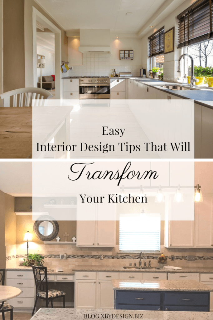 Easy interior design tips to transform your kitchen