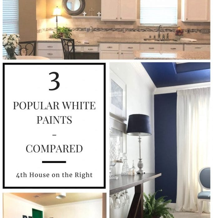 White Paint - Compared