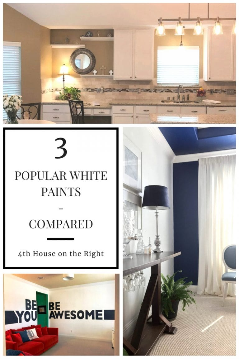 I Tested 3 White Paint Colors & Here's What I Found Out