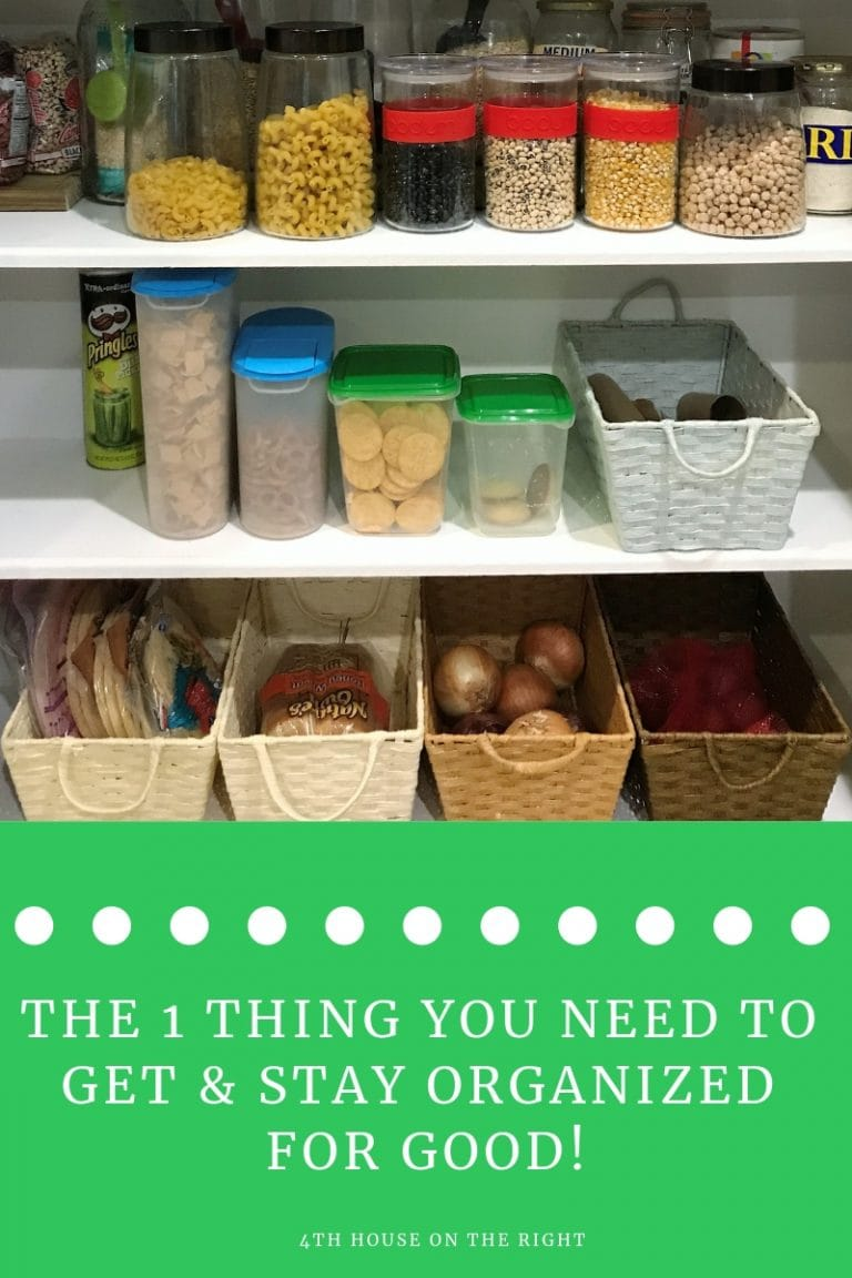 Get & Stay Organized – In the Kitchen