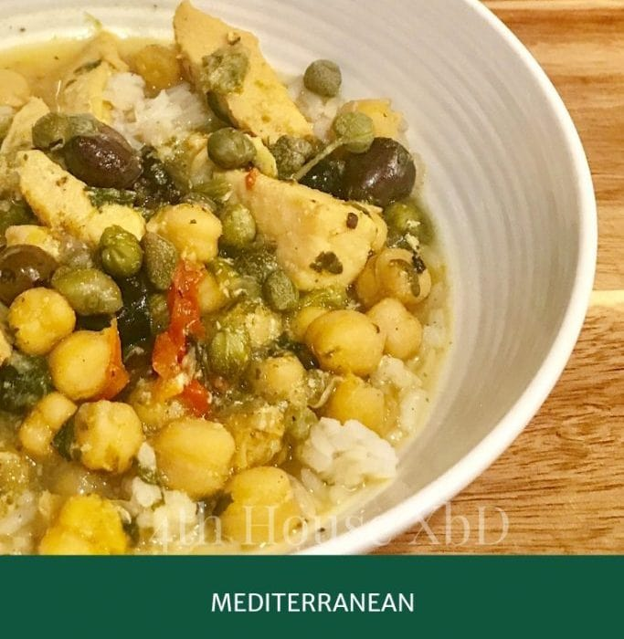Mediterranean Chicken Stoup