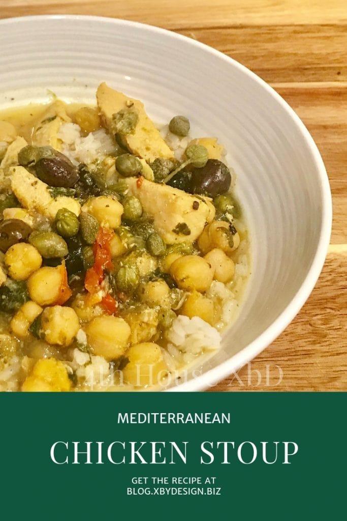 """Mediterranean Chicken """"Stoup"""""""