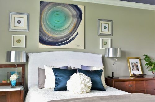 DIY Custom Headboard Slipcover