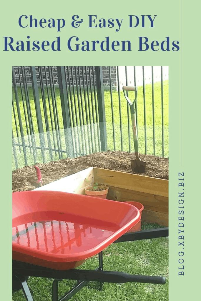 DIY Rasied Garden Beds