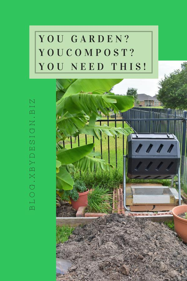 "Make this DIY compost sifter for next to nothing. You'll end up with perfect ""black gold"" for your garden & potted plants.How & Why I Made a DIY Compost Sifter ~ 4th House on the Right"