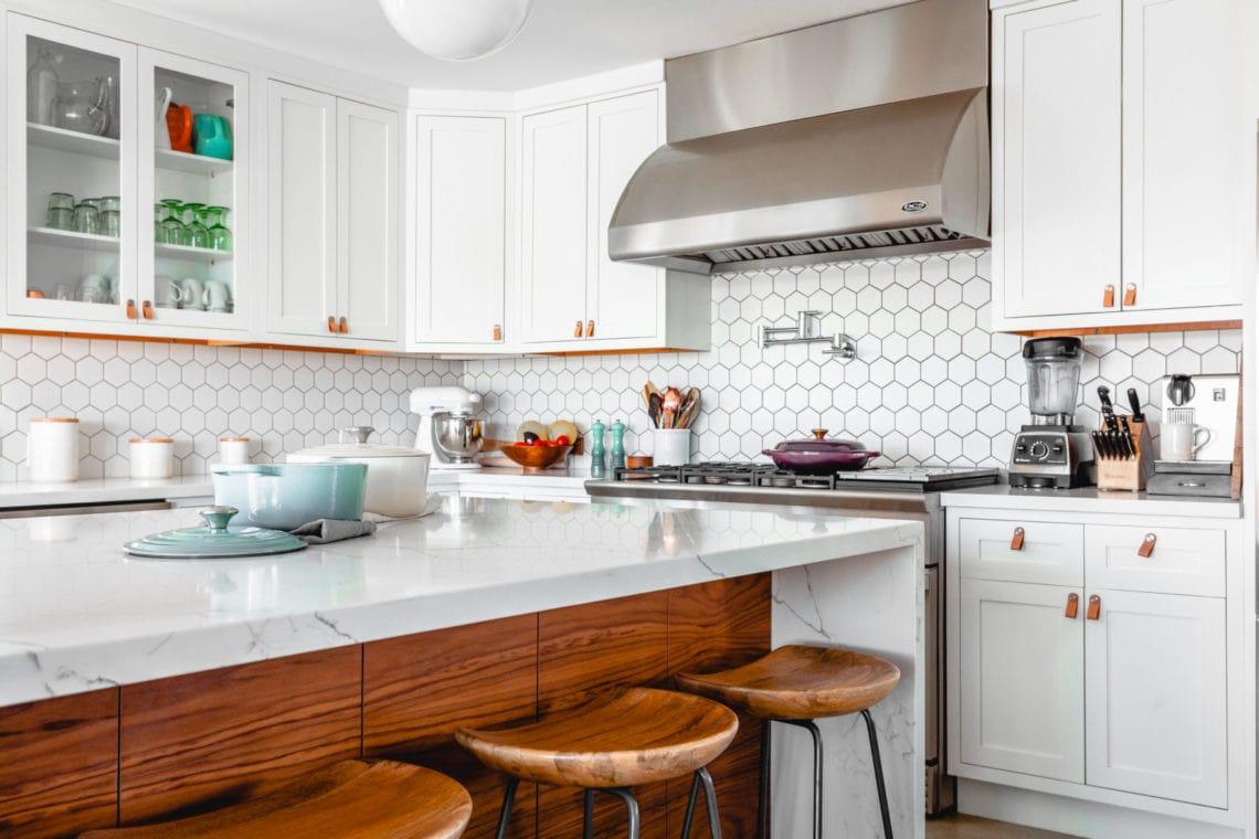 Modern Farmhouse Kitchen Photo by Rustic Vegan